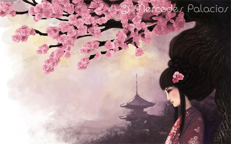 Cerezo - Sakura no ki by eviaan-art