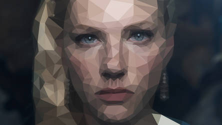 Vikings - Lagertha - Low Poly - Close Up