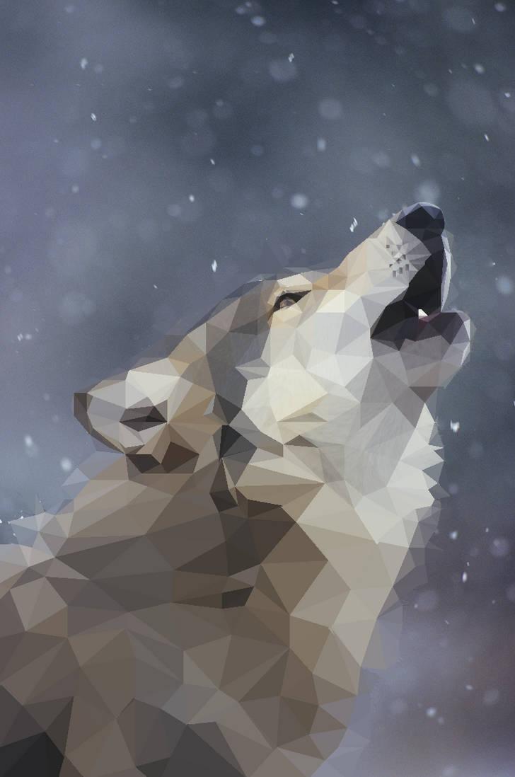 Howling Wolf by ElodieCarpentier