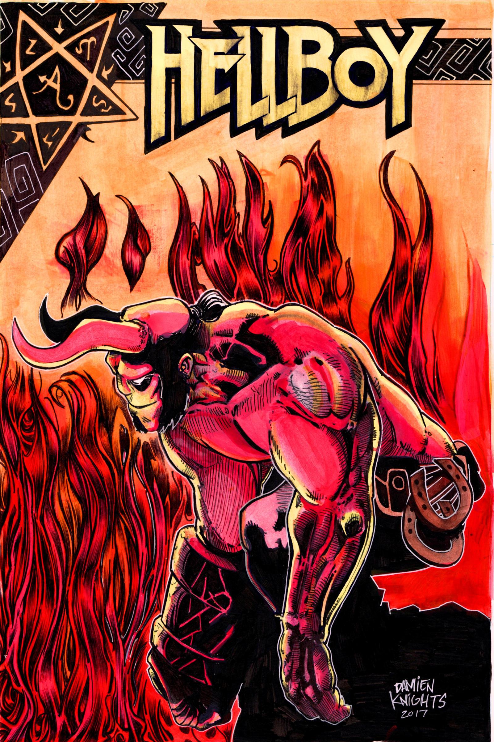 Hellboy by Hellhound30x