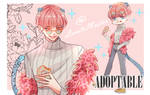 [CLOSE ] Adoptable | Tiger Pink