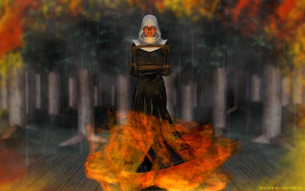 Daughter of Salem by OniDrEvil
