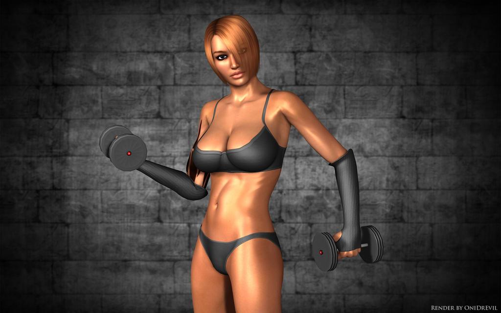 Fitness by OniDrEvil