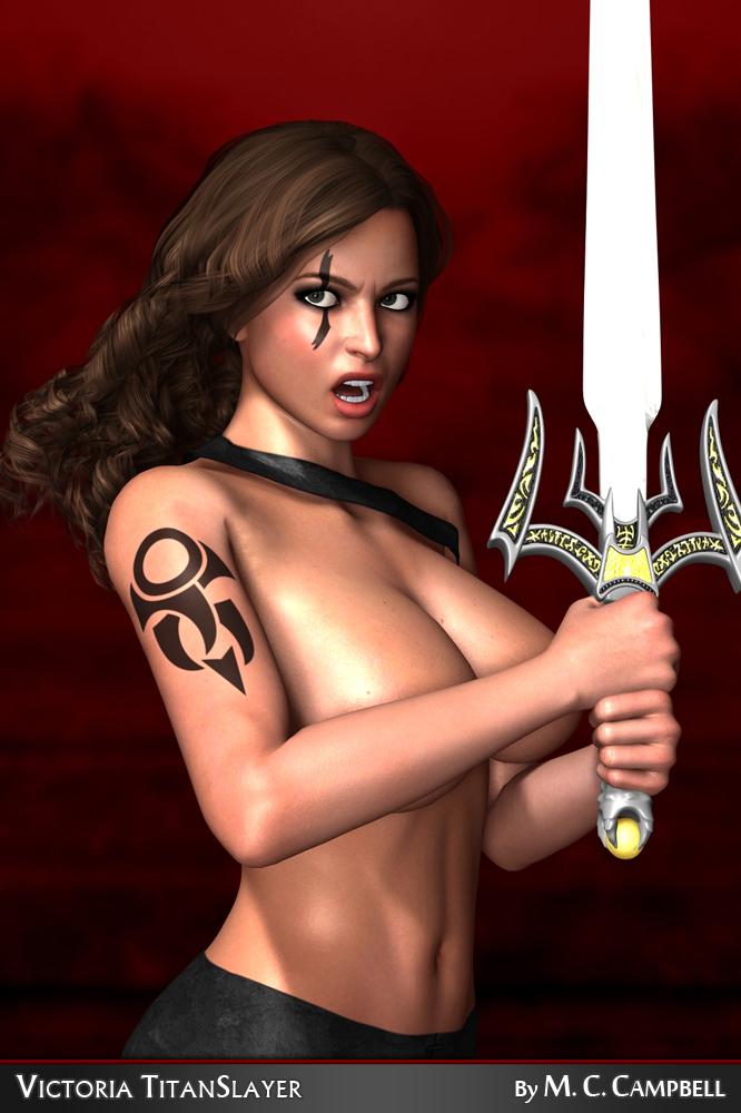 Victoria TitanSlayer: Concept Render 7 by OniDrEvil