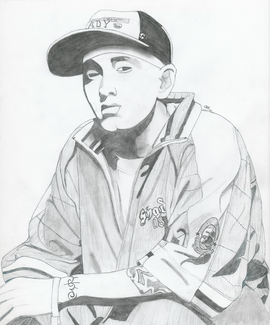 Eminem drawing by saralalah on DeviantArt