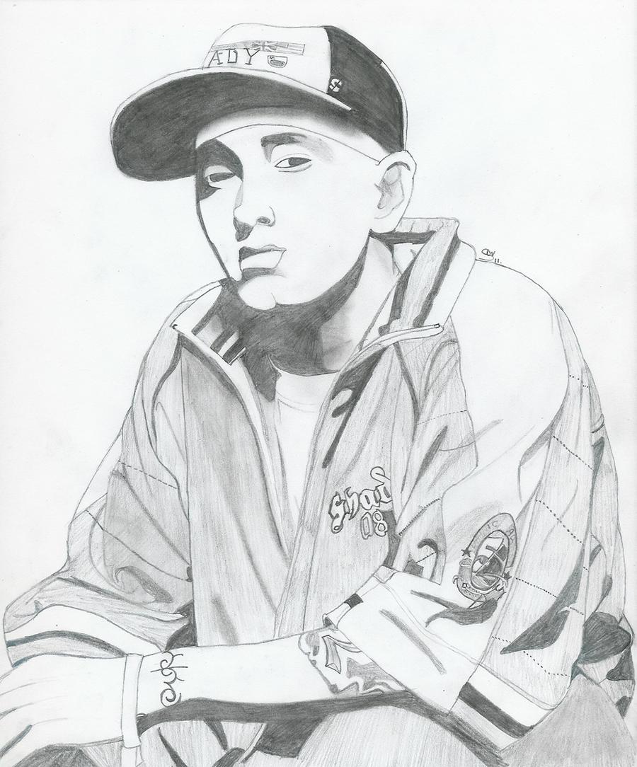 Eminem drawing by saralalah on DeviantArt