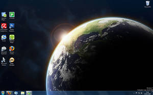 My Windows 7 Desktop by Kaonic