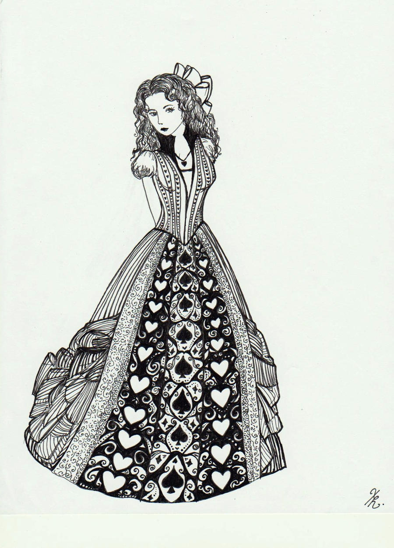 Black Queen by La-Chapeliere-Folle