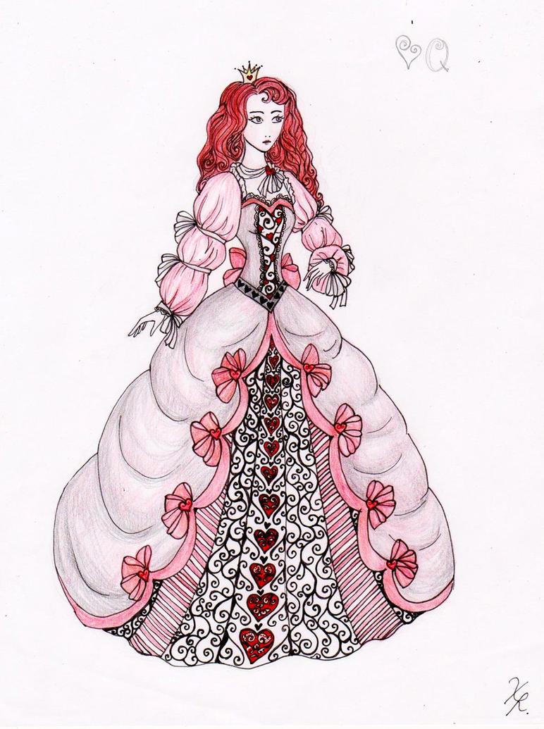Queen of Hearts by La-Chapeliere-Folle