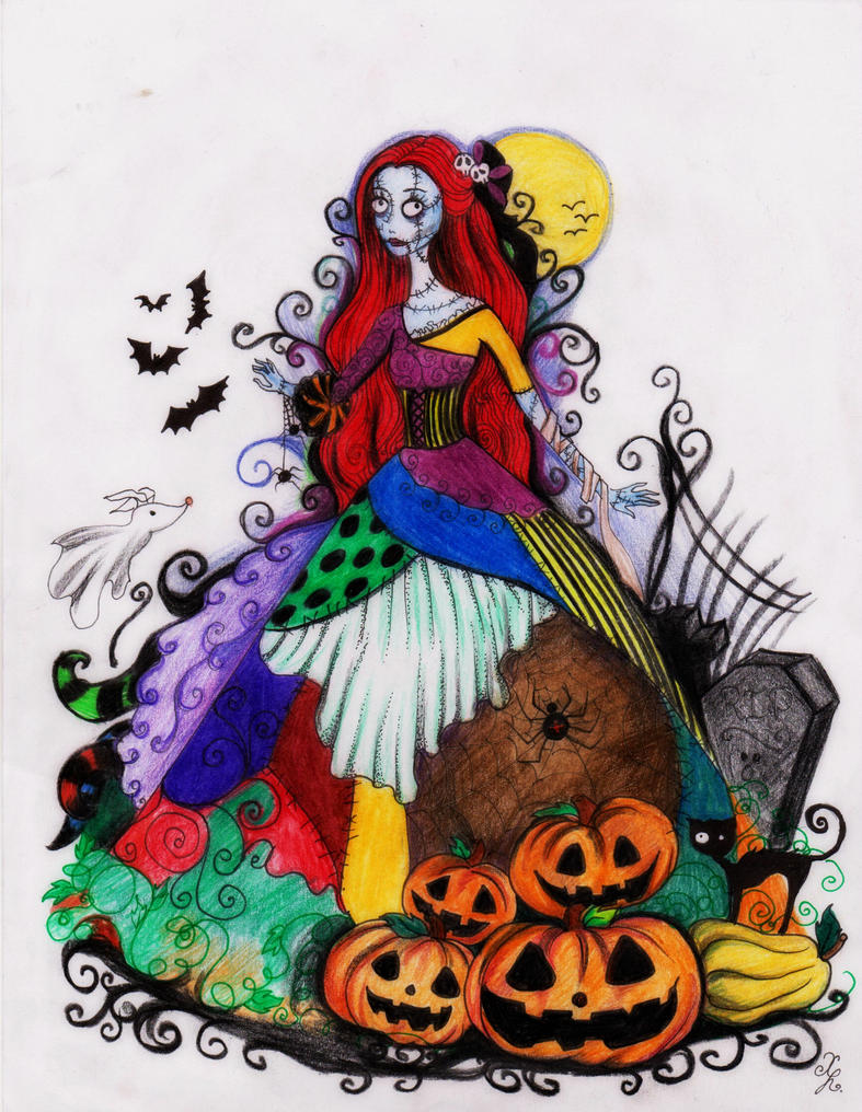 This is halloween by la chapeliere folle on deviantart for Cool christmas art
