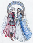 the Dragon Prince and the Wolf Maid