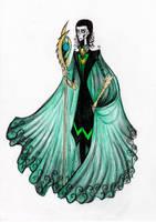 Tim Burtonned Loki