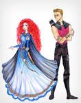 Hawkeye likes Redheads