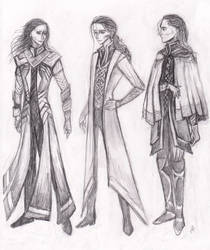 Loki In Thor 2? Doodles