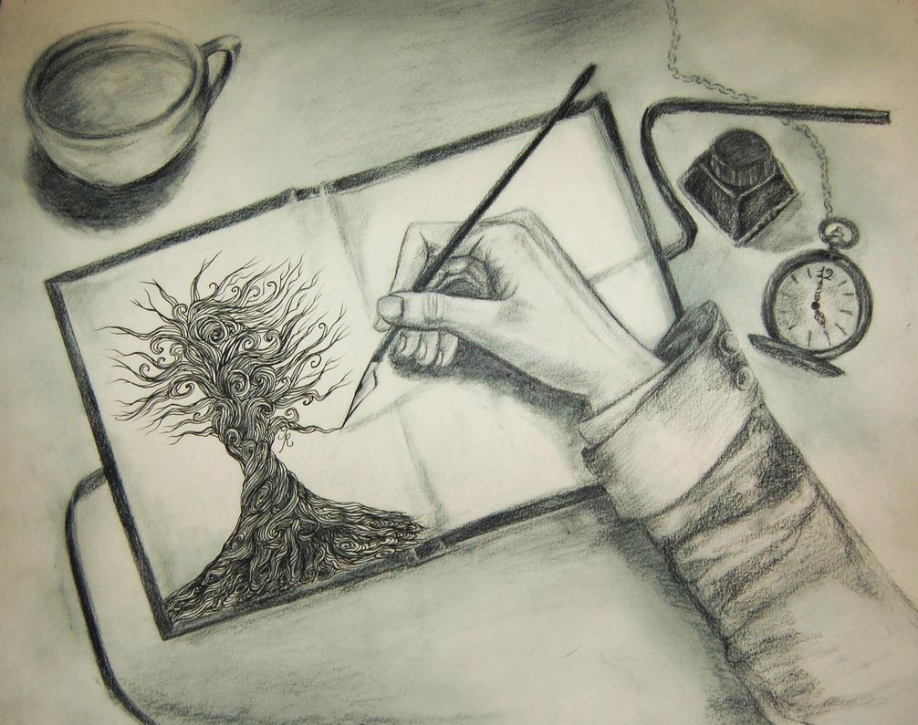 Marco's Notebook by La-Chapeliere-Folle