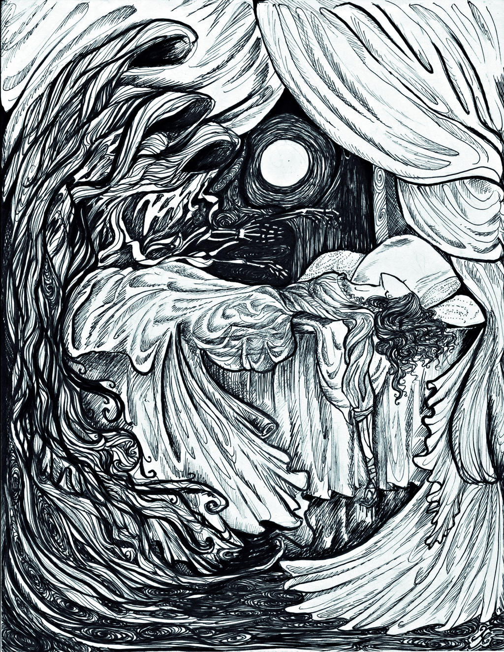 Nightmares by La-Chapeliere-Folle