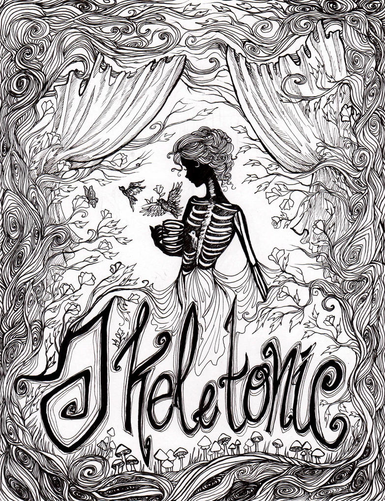 Skeletonic by La-Chapeliere-Folle
