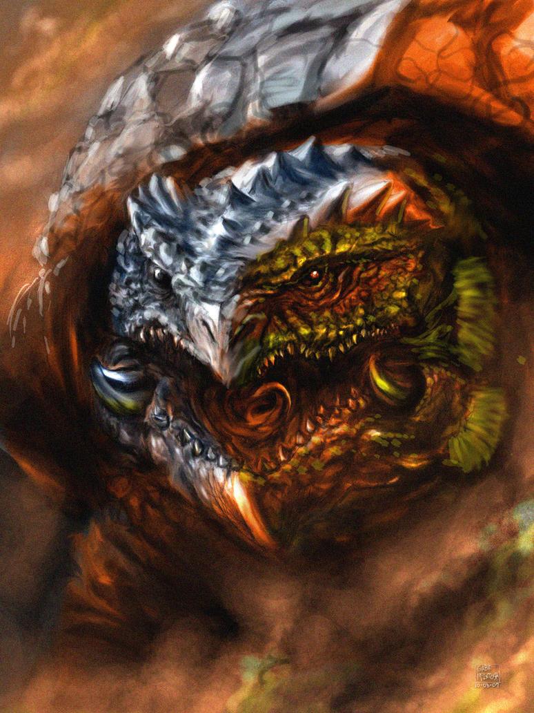 Turtle Dragon By Chongo Zilla