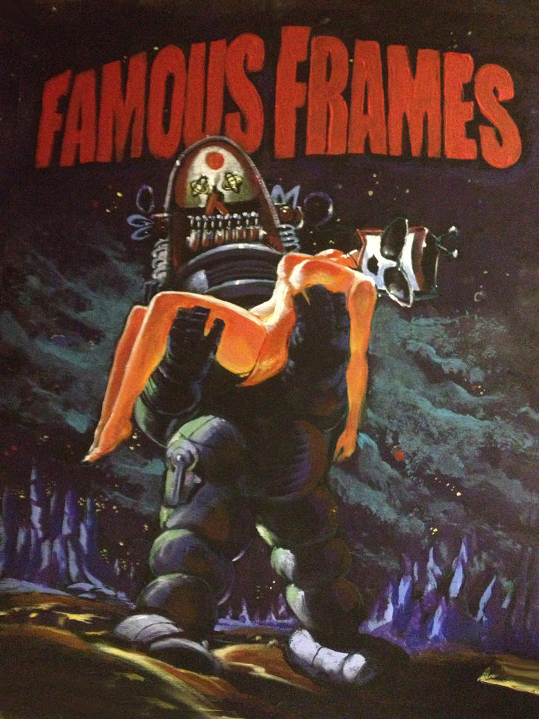 Famous Frames retro sign by Chongo-zilla on DeviantArt