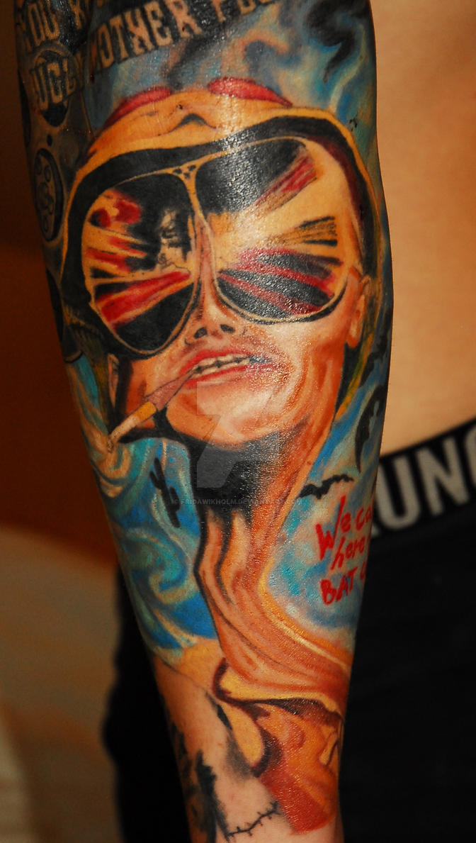 Fear And Loathing In Las Vegas Tattoo By Fridawikholm On Deviantart