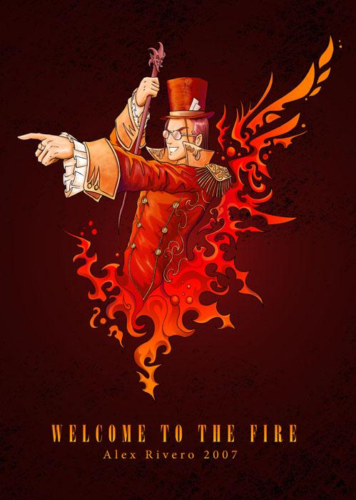 Welcome to the Fire by Alexlapiz