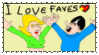 I love faves stamp by Ottoenlotte