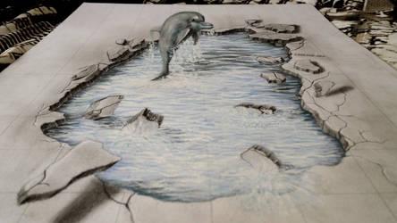 Dolphin 3D by Saules-dievas