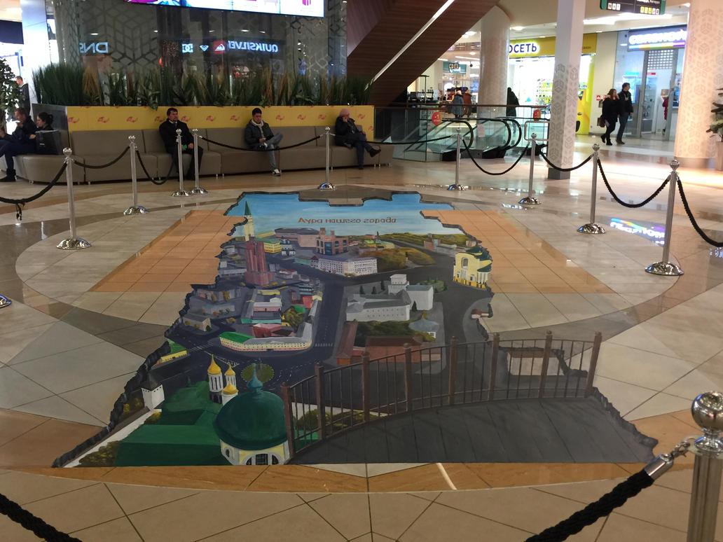 Yaroslavl city 3D art by Saules-dievas
