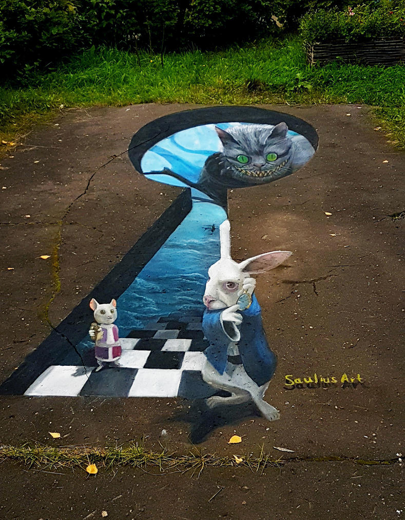 Alice's Adventures in Wonderland by Saules-dievas