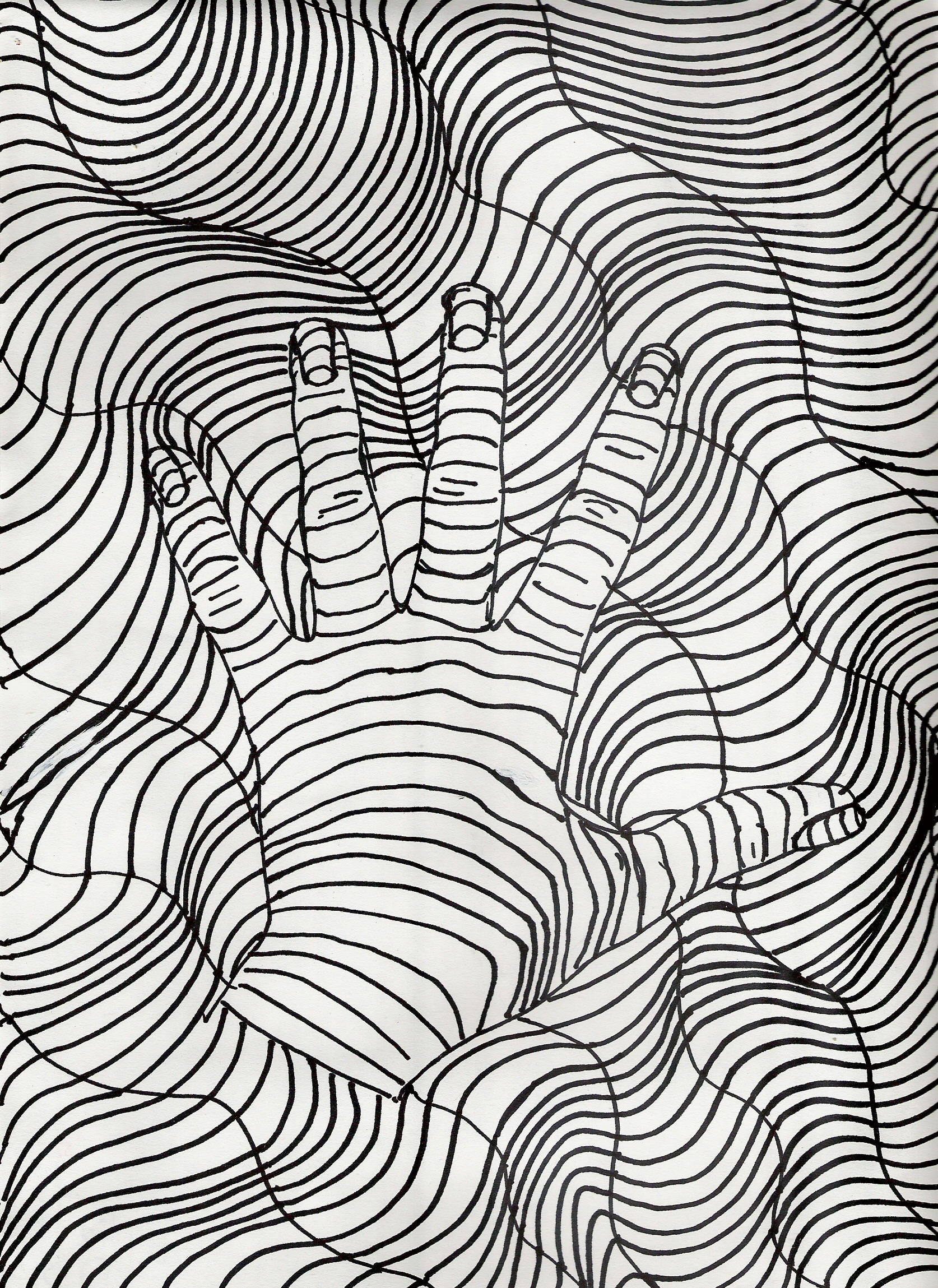 Contour Line Drawing Xp : Line contour by theltrain on deviantart