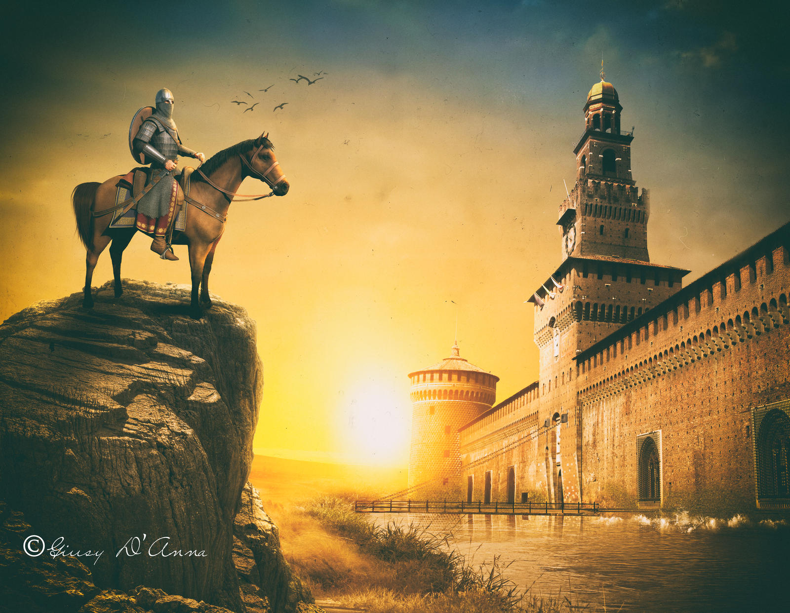 castle sforzesco Milan