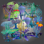 Alien Plants by gayaliberty