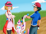 [Amourshipping] Let's do our best