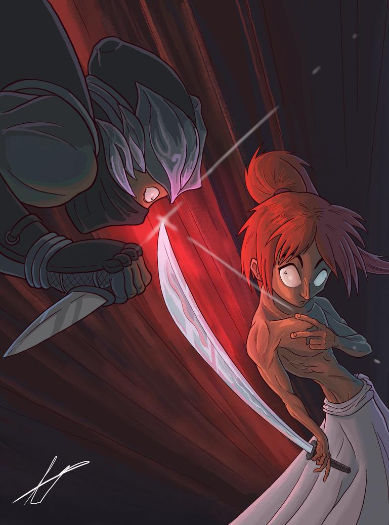 Badass Kenshin by FabianLeonardo