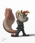 Metalhead Squirrel
