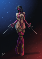 Mileena Wins by FabianLeonardo