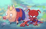 Spiderpigs