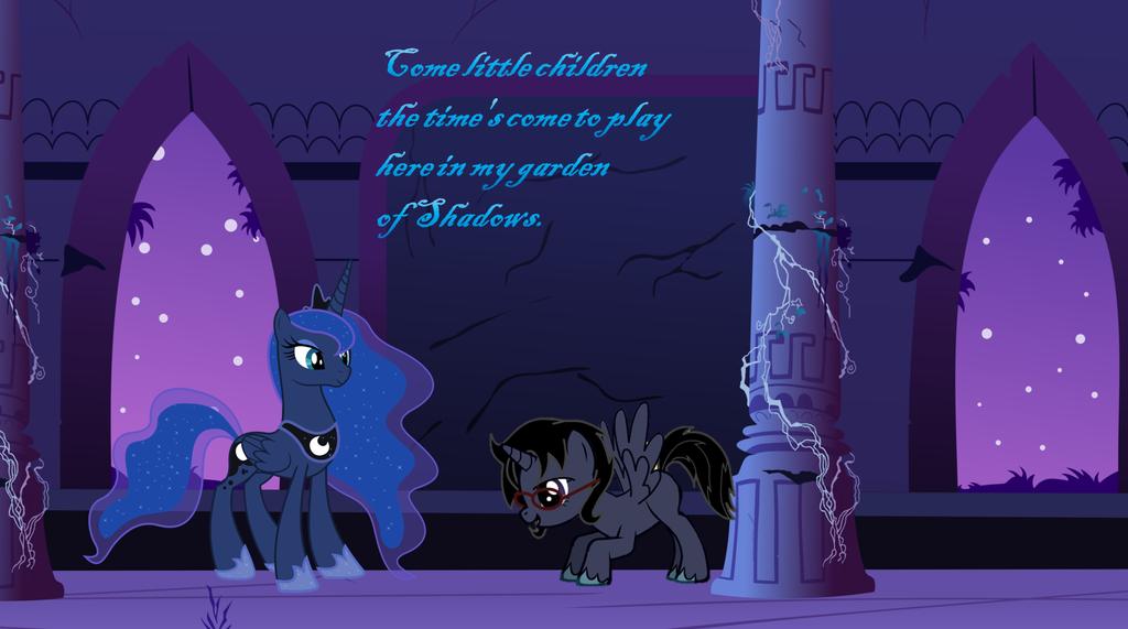 Garden Of Shadows Luna Princess Luna and (Un-...