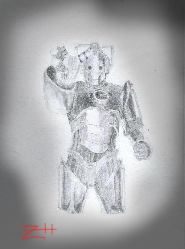 Cyberman by Zizzorhands
