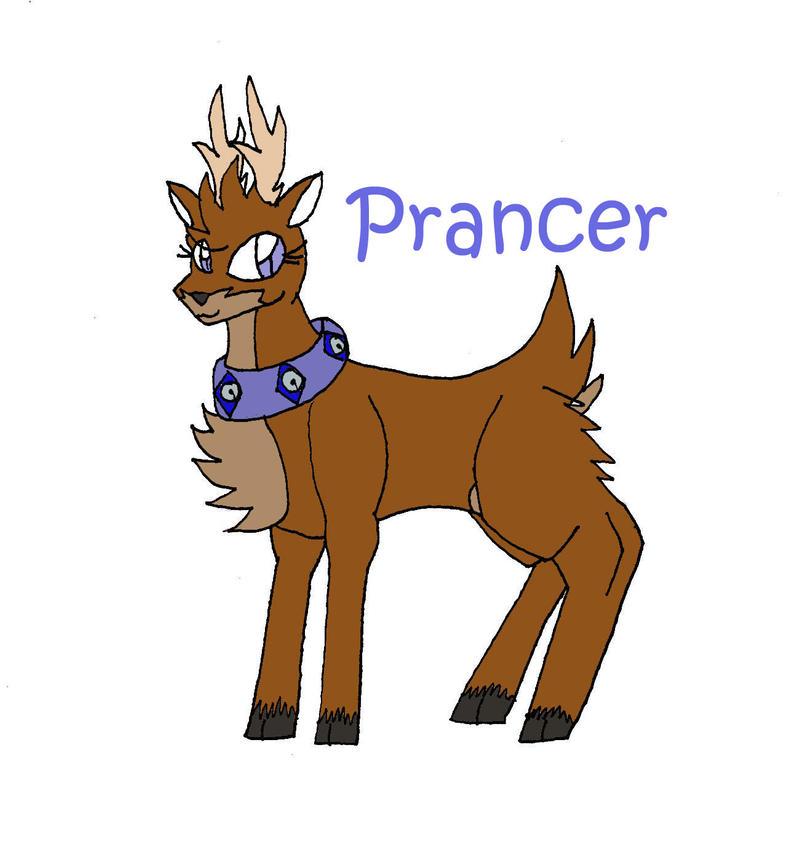 Santa's reindeer Prancer by eomonmoonbertlotanis on DeviantArt