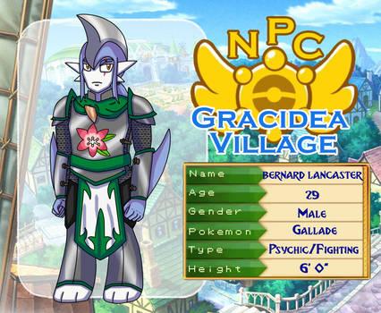 Gracidea Village: NPC Bernard Lancaster