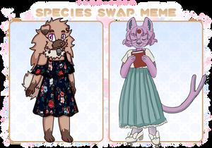 PKMN-PMMM: Species Swap Isa and Naomi