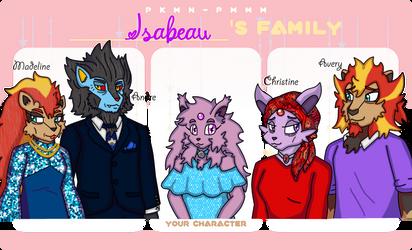 PKMN-PMMM: Isabeau's Family