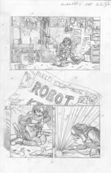 Steampunk Robot 1