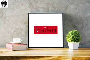 Haiku - Logo by nellasgraphics