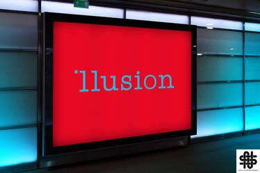Illusion - Logo by nellasgraphics