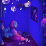 Dreaming of space mermaids