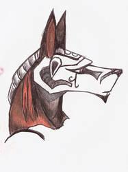 Anubis sketch 2