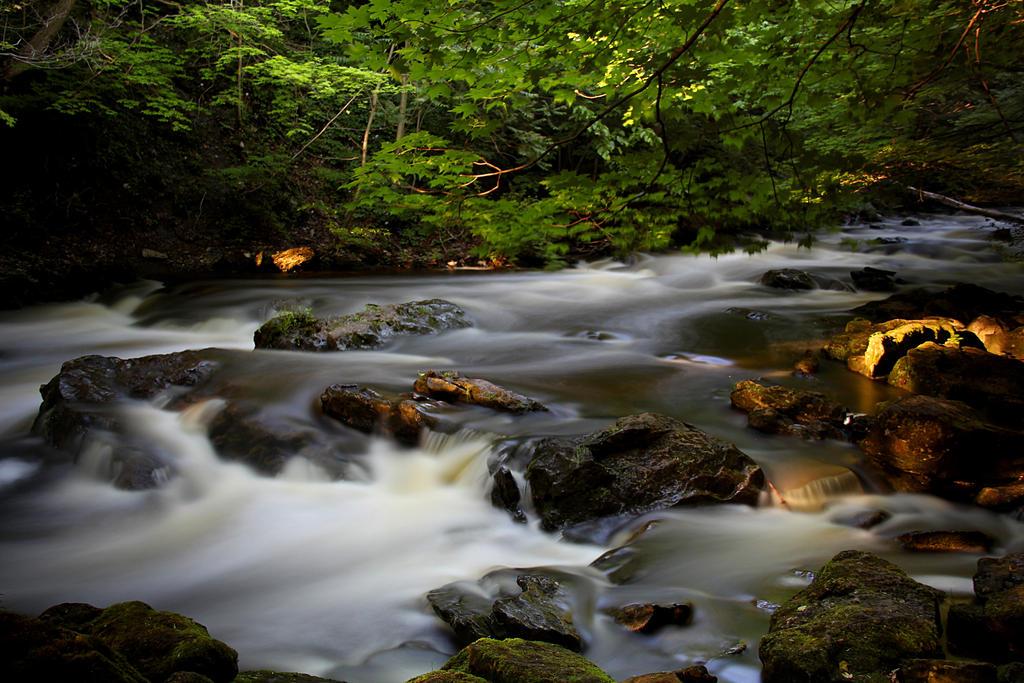 Water on the rocks. by sweatangel