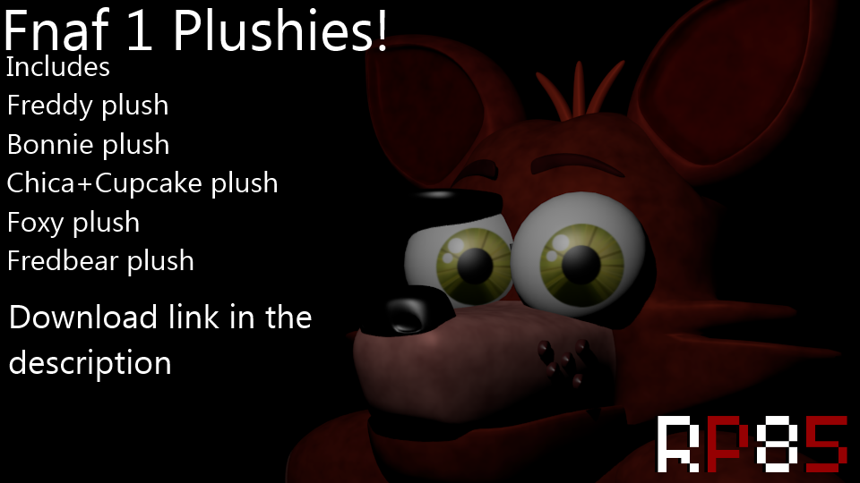 Fnaf 1 plushies blender file download by w3irdr3d on deviantart